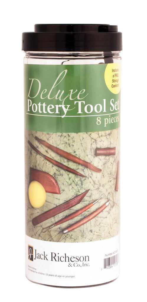 Deluxe 8 Piece Basic Potters Assortment