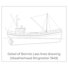 Load image into Gallery viewer, The Original Bonnie Lass Crew T-Shirt (White)