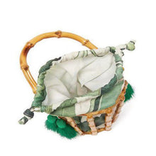 Load image into Gallery viewer, Bamboo Leaf Bucket Tote
