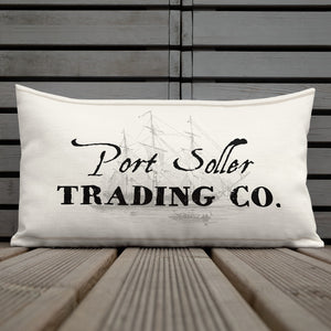 "Scatter Cushion - Port Soller Trading Co (12""x20"")"