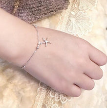 Load image into Gallery viewer, Starfish Charm Bracelet