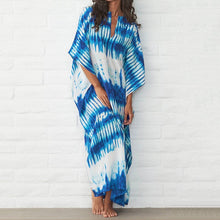 Load image into Gallery viewer, Sea Time Maxi Dress - Azul