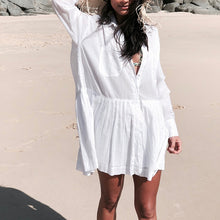 Load image into Gallery viewer, Simplicity Cotton Beach Dress