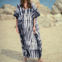 Load image into Gallery viewer, Sea Time Maxi Dress - Charcoal