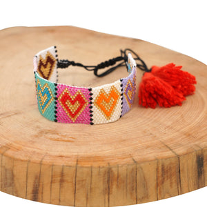 Love is in the Air Miyuki Bracelet