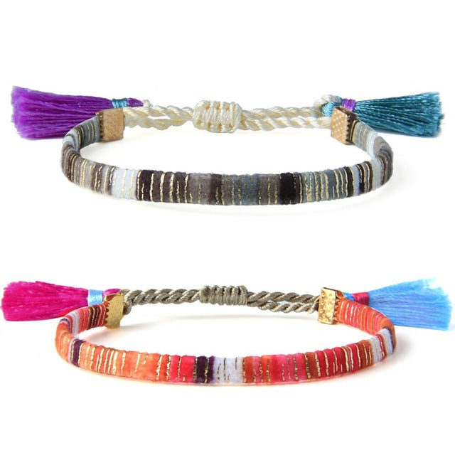 San Juan Cotton Bracelets (2 piece)