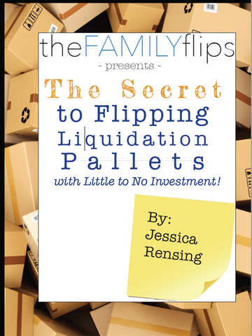 E-Book The Secret to Flipping Pallets with Little to No Investment