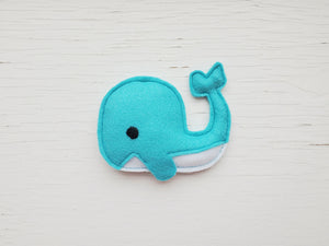 Dog Toys - Whale - Plush Toy with Squeaker