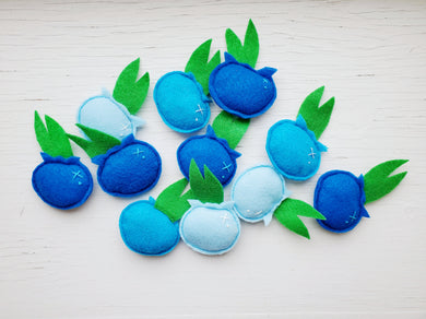 Cat Toys - Blueberries - Organic Catnip and bells