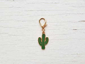 Pendant - Enamel Cactus - Mutiple Colors available