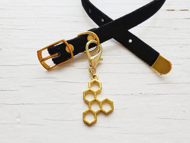 Pendant - Honeycomb Collar Accessory