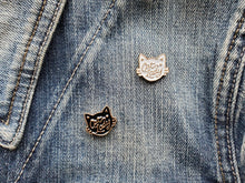 Load image into Gallery viewer, Enamel Cat Lady Pins
