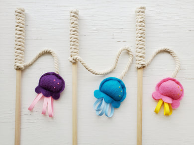 Cat Toys - Jellyfish Teaser Wand
