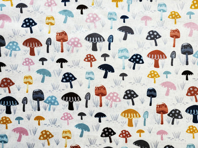 Pet Bed - Mushroom Print on Canvas