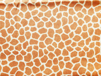 Pet Bed - Giraffe Print