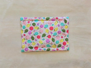 Pet Bed - Pink Beetle Print