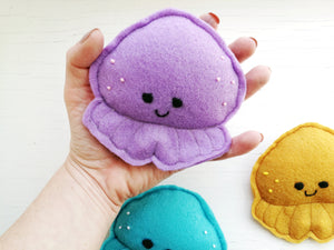 Dog Toys - Octopus - Plush Toys with Squeaker