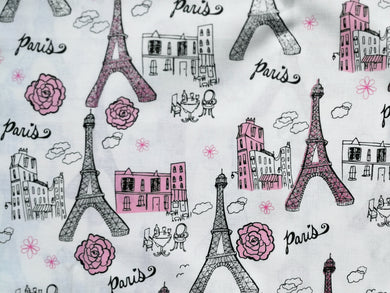 Pet Bed - Paris Sparkle Print