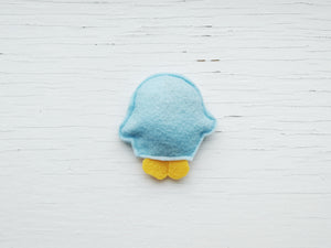 Cat Toys - Pocket Penguin - Organic Catnip and bells inside