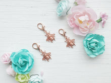 Load image into Gallery viewer, Pendant - Rose Gold Bee - With Rose Gold clasp