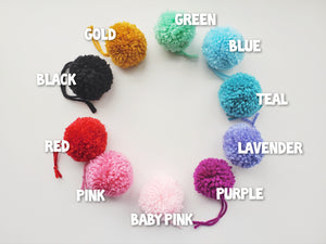 Cat Ball Toy - 4pk Pompoms - Organic Catnip and Bell