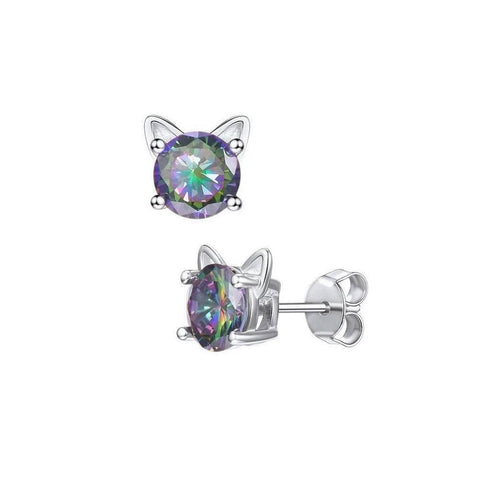 Boucles d'Oreilles Chat  Karl Style