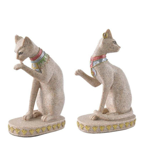 Statuette Chat  Douceur de Pierre