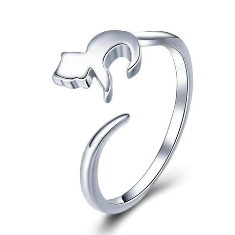 bague ajustable de chat