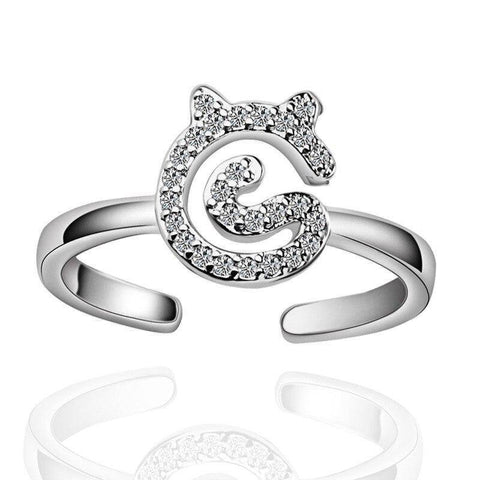 Bague Chat Brillance de Diamants