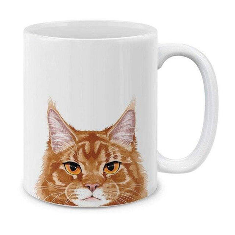 mug chat maine coon