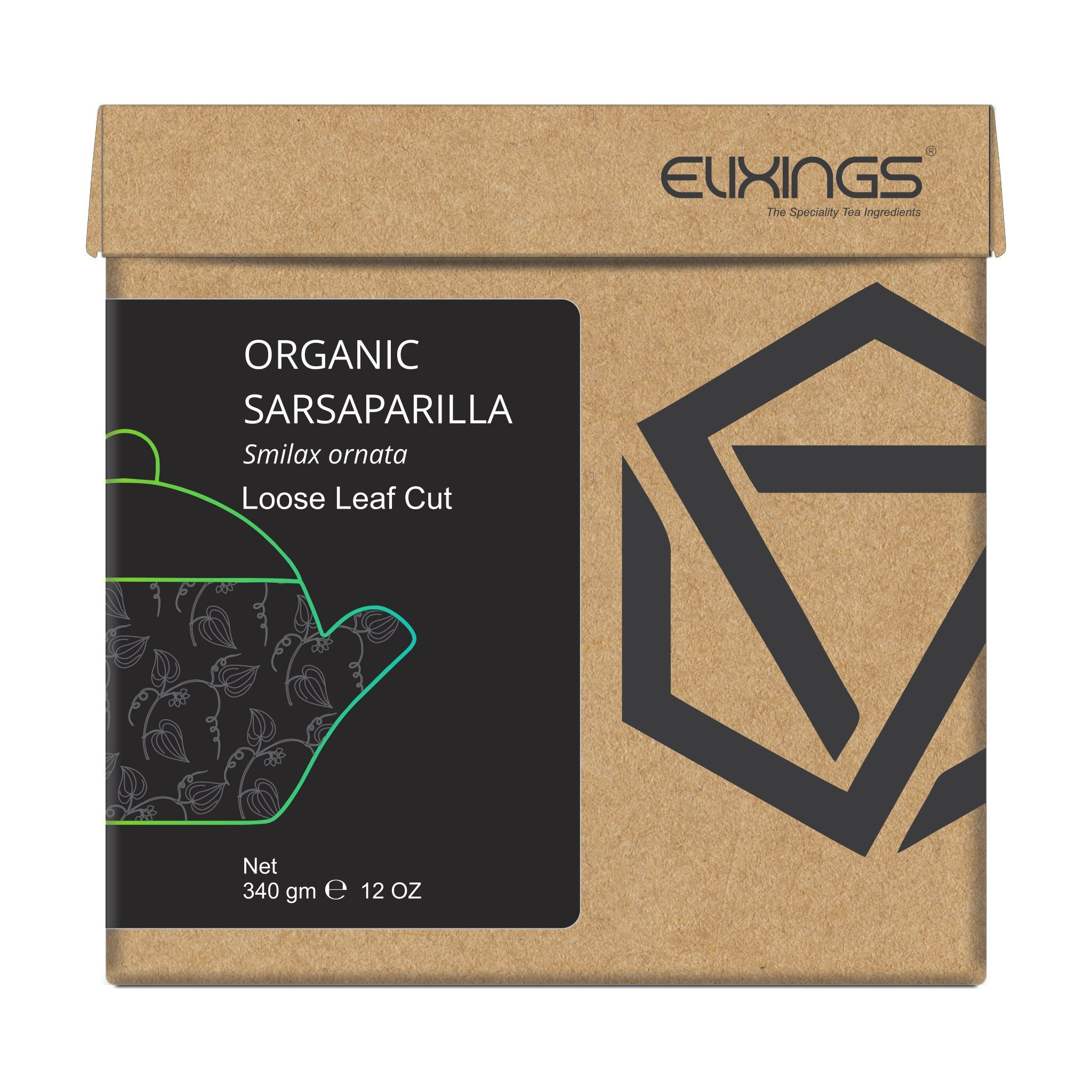 Organic Sarsaparilla Loose Leaf Cut