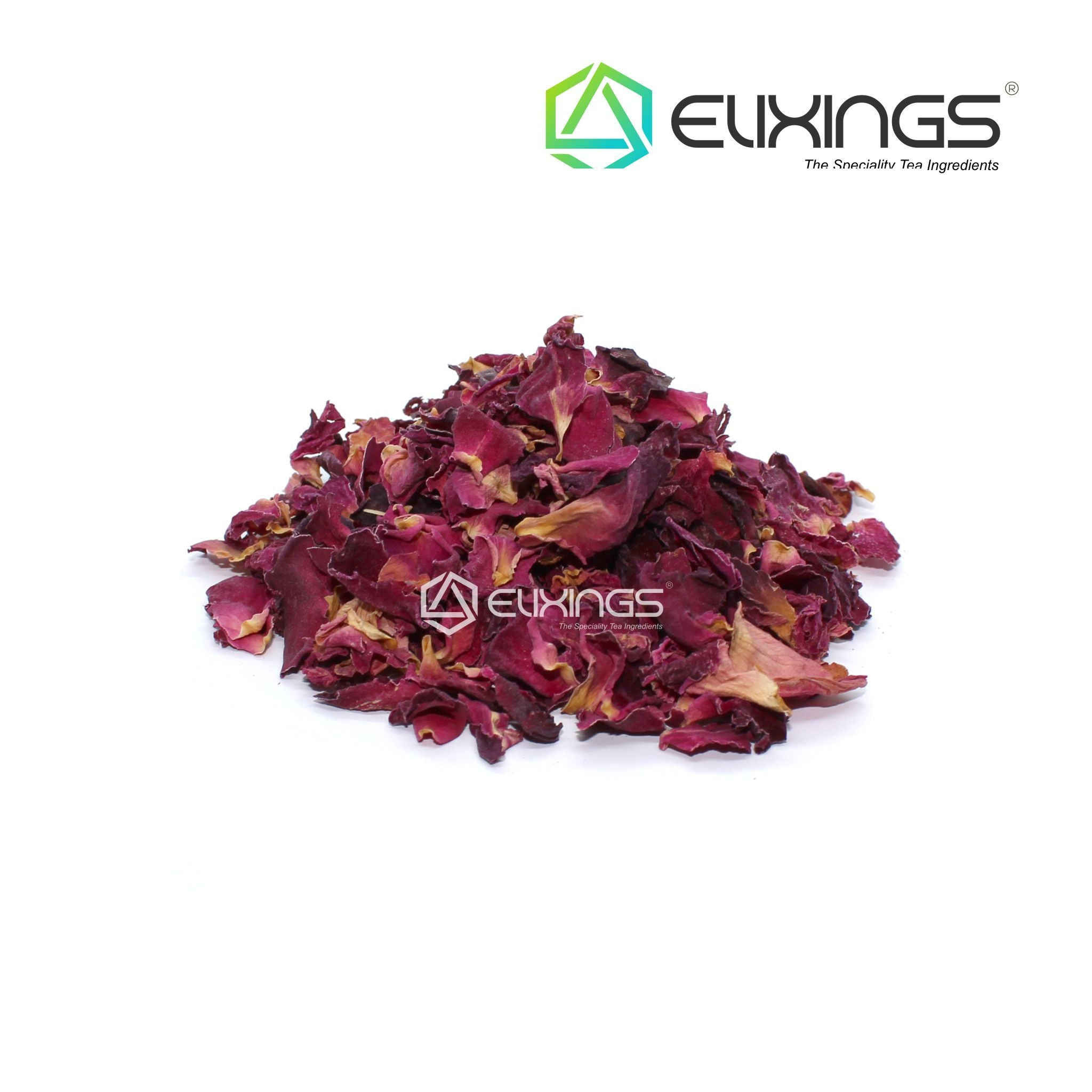 Red Rose Petals Dried Whole