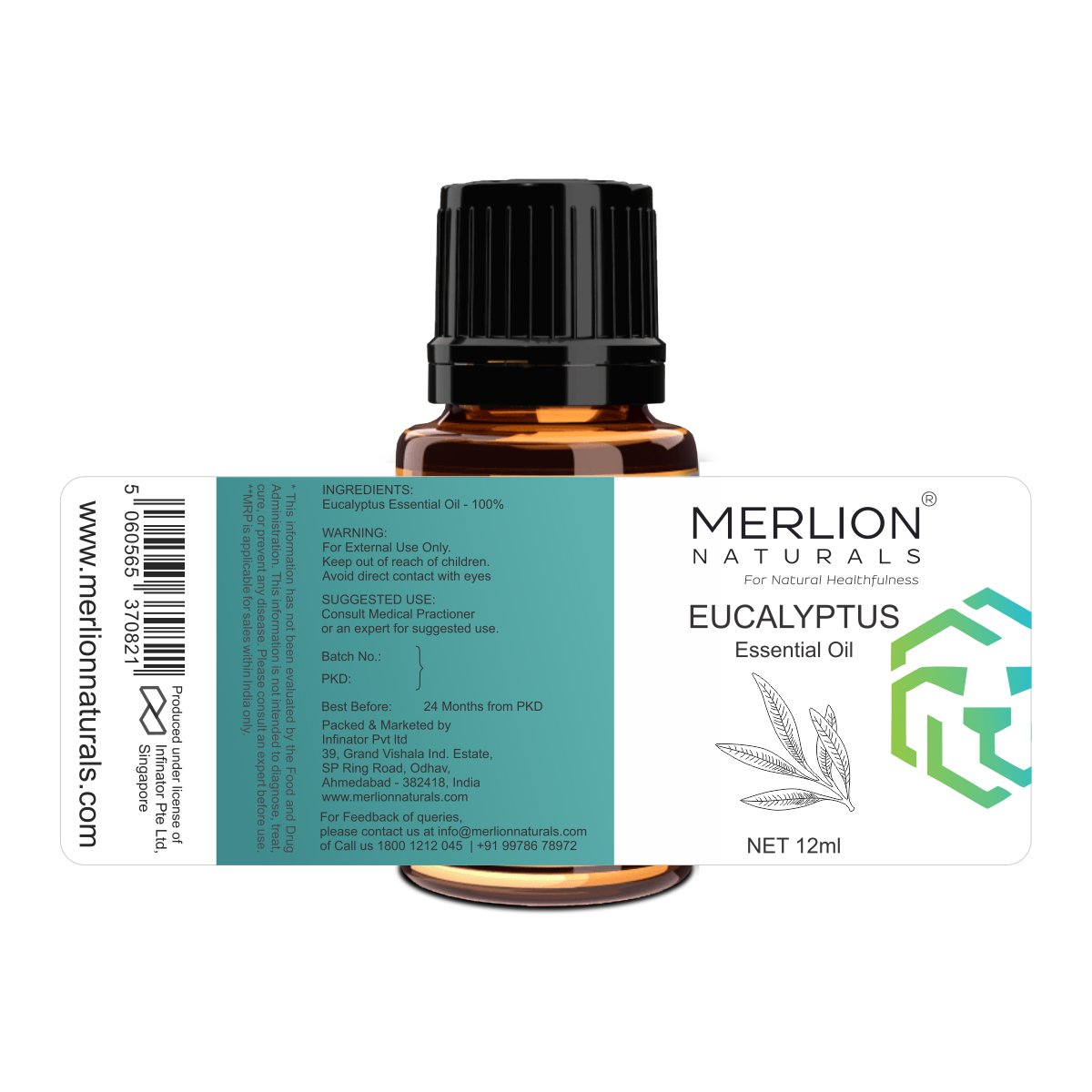 Eucalyptus Essential Oil 12 ml