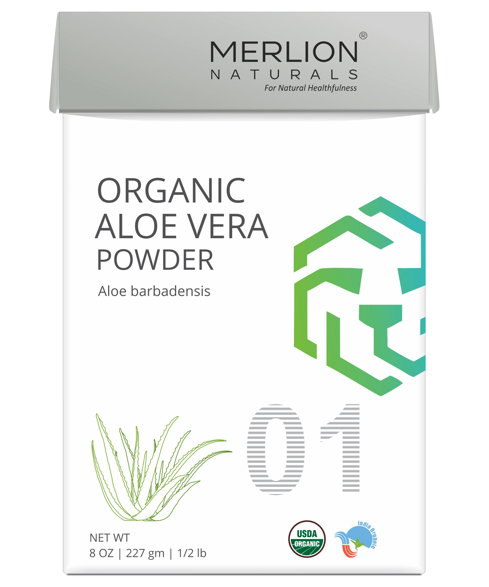 Organic Aloe Vera Powder | Aloe barbadensis