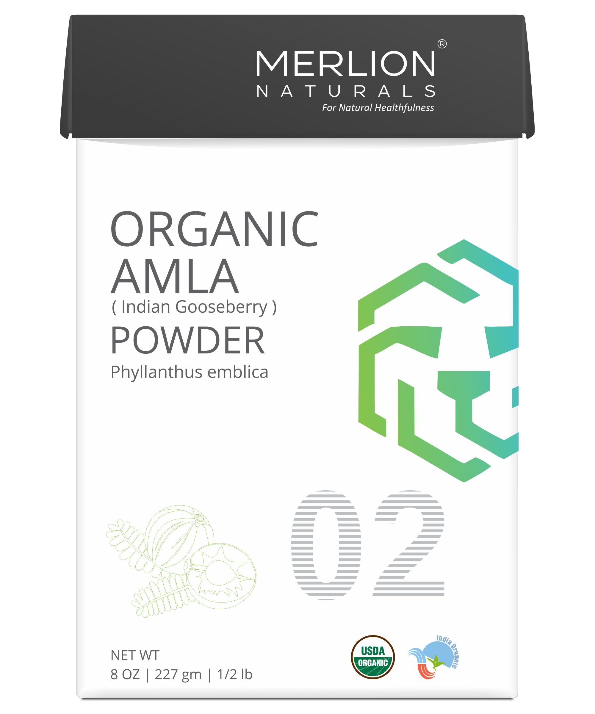Organic Amla Powder | Philanthus emblica | Indian Gooseberry