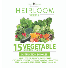 15 Vegetables Grow Guide