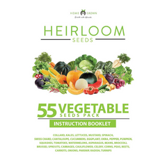 55 Vegetables Grow Guide