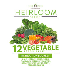12 Vegetables Grow Guide
