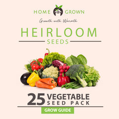 25 Vegetables Grow Guide