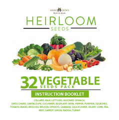 32 Vegetables Grow Guide