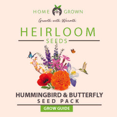 Hummingbird & Butterfly Seed Pack Grow Guide