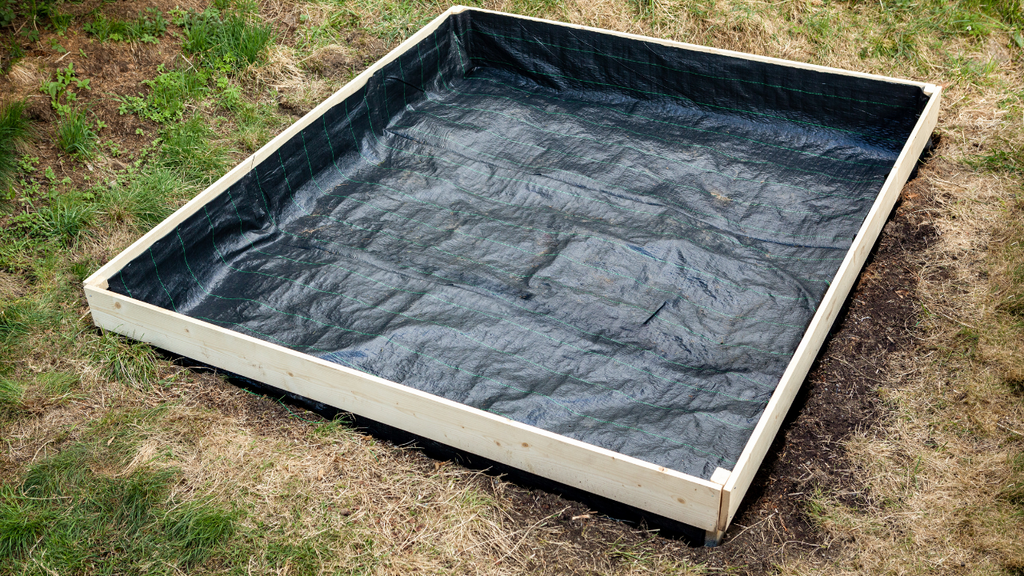 Positioning Raised Bed