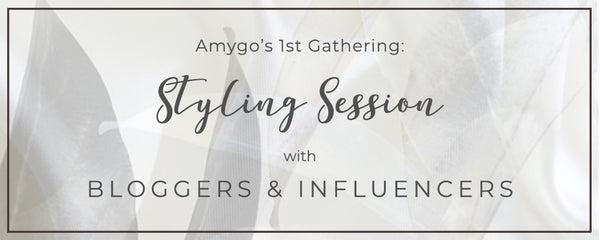 Amigo 1st Gathering Sharing with Bloggers and Influencer