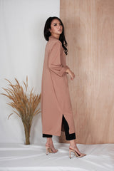 Eden long Coat in Milo