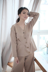 Alto Button Top in Milo