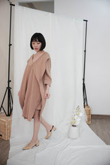 Leah Multiway Dress in Nude