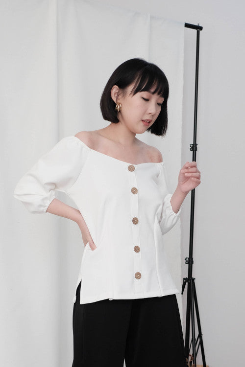 Paloma Multiway Top in White