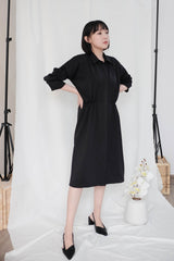 Simone Outer Dress in Black