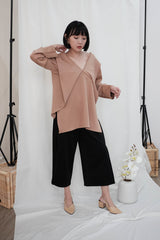 Leah Multiway Top in Nude