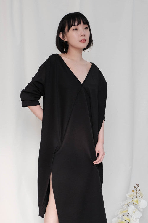 Leah Multiway Dress in Black